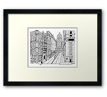 The Rookery Maze Framed Print
