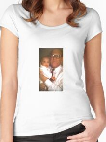 Me and My Grandpa♡♡♡ Women's Fitted Scoop T-Shirt