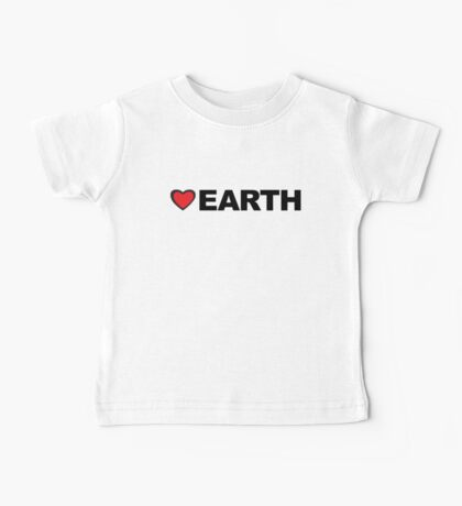 Love Earth Baby Tee