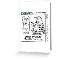 Cartoon : Daleks Gone Green Greeting Card