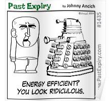 Cartoon : Daleks Gone Green Poster