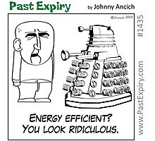 Cartoon : Daleks Gone Green Photographic Print