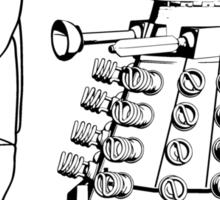 Cartoon : Daleks Gone Green Sticker