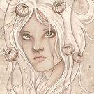 Seed Pod Girl by FaerieMajikk