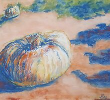 Pumpkin Lights (pastel) by Niki Hilsabeck