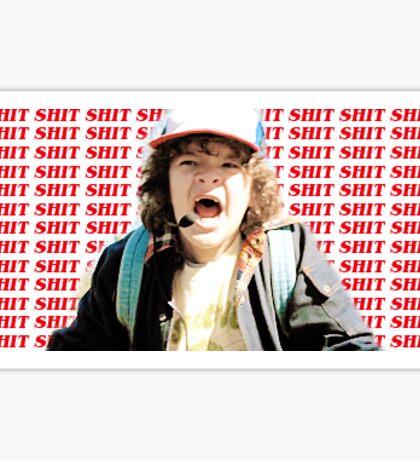 Dustin Henderson Sticker Sticker