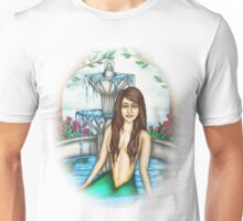 Mermaid in the Fountain Unisex T-Shirt