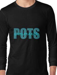 POTS Ribbon Awareness Long Sleeve T-Shirt