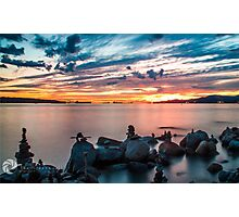 English Bay Sunset Photographic Print