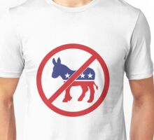 No Democrats, Vote Republican Unisex T-Shirt