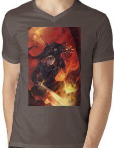 BBC Merlin: The Dragon Rises (cover) Mens V-Neck T-Shirt