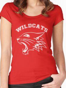 wildcats team Women's Fitted Scoop T-Shirt