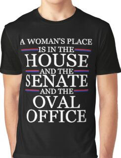 House, Senate, and Oval Office Graphic T-Shirt