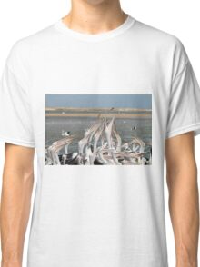 Pelicans and Fish Classic T-Shirt