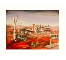 Read Heart of the Outback Art Print