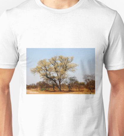 SIGNS OF SPRING - THE KNOB THORN - Acacia nigrescens - Knoppies doring Unisex T-Shirt