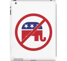 No Republicans Vote Democrat iPad Case/Skin