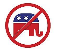 No Republicans Vote Democrat Photographic Print