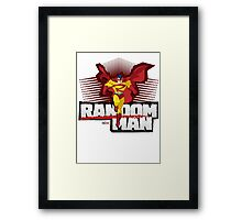 RandomMan! Framed Print