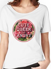 Cute, Queer and Angry Women's Relaxed Fit T-Shirt