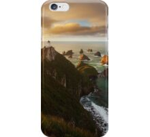Nugget Point Lighthouse iPhone Case/Skin
