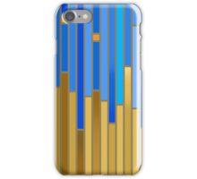 Ukrainian flag colors iPhone Case/Skin