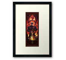 BBC Merlin: The Dragon Rises (Arthur) Framed Print