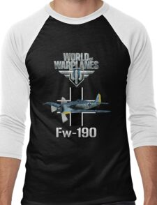World of Warplanes Fw190 Men's Baseball ¾ T-Shirt