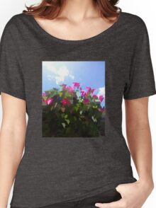 Glitchin' Flowers Women's Relaxed Fit T-Shirt