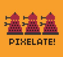 Pixelate Black Text by rydiachacha