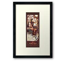 BBC Merlin: The Dragon Rises (World Tree) Framed Print