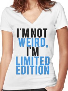 I'm Limited Edition Women's Fitted V-Neck T-Shirt