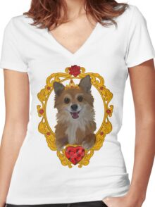 Ruby Ruby Ruby Ruby! Women's Fitted V-Neck T-Shirt