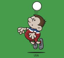 2014 World Cup - USA One Piece - Short Sleeve