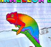 Chameleon Boy Sticker