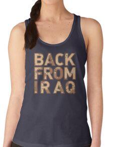 Back From Iraq - Iraq Vets Women's Tank Top