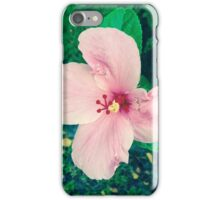 Pink Hibiscus iPhone Case/Skin