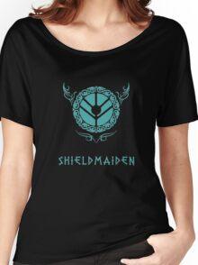 Lagertha Shieldmaiden Shirt Women's Relaxed Fit T-Shirt