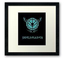 Lagertha Shieldmaiden Shirt Framed Print