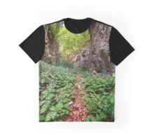 Hiking trail in the mountains Graphic T-Shirt