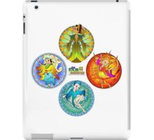 The Four Elements - Earth, Air, Fire & Water iPad Case/Skin
