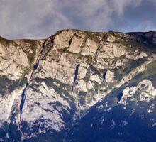 Bucegi mountains in Romania Sticker