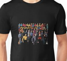 Star Fleet Who's Who Tee Shirt Unisex T-Shirt