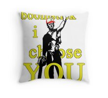 Boomstick I Choose You Throw Pillow