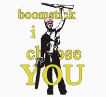 Boomstick I Choose You Kids Tee