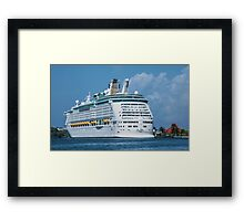 The Adventure of the Seas Framed Print