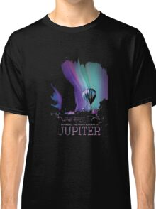 Jupiter Space Travel Poster Tee Shirt MCM Style Classic T-Shirt