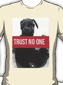 "Tupac ""Trust NO One"" Supreme T-Shirt"