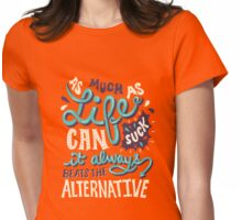 Paper Towns: It Beats The Alternative Womens Fitted T-Shirt