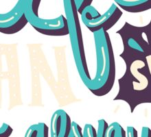 Paper Towns: It Beats The Alternative Sticker